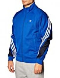 adidas 3stripe Wrap TT Sudadera, Hombre, Team Royal Blue/White, L