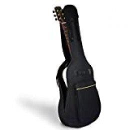 Mopalwin Funda de Guitarra, Estuche de Transporte de Guitarra para 41 Pulgadas Resistente al Agua Paño Oxford guitarra electrica - Negro