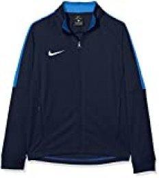 NIKE Y NK Dry Acdmy18 Trk Jkt K Sport jacket, Niños, Obsidian/ Royal Blue/ White, S