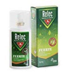 Relec Fuerte Sensitive Familiar Spray Repelente Antimosquitos para Pieles Sensibles, 7 horas de Protección, Repelente de Insectos para Toda la Familia y Zonas de Clima Templado - 75 ml