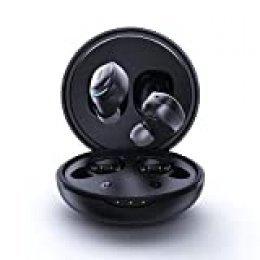 Mifa X8 Auriculares Inalámbricos Bluetooth 5.0 In-Ear con autonomía de 20 Horas de Reproducción, Control Táctil, Sonido Estéreo 3D, Micrófono y Caja de Carga, Compatible con iOS y Android