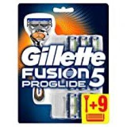 Gillette Fusion ProGlide Maquinilla de afeitar - 10 Recambios