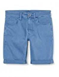 G-STAR RAW 3301 Slim Short Vaqueros, Azul (Delft C258-825), W29/L para Hombre