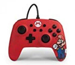 PowerA - Mando con cable Mario (Nintendo Switch)