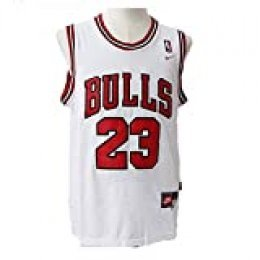 LinkLvoe Camiseta de Baloncesto NBA Michael Jordan # 23 Chicago Bulls para Hombres, los fieles Seguidores de Los Angeles Lakers y Lebron James no Deben perderse Esta Camiseta