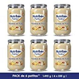 Nutribén Potitos De Macedonia De Frutas Desde Los 6 Meses Pack de 6 x 235 gr.