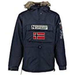 Geographical Norway Parka Hombre Boomerang Azul Marino M