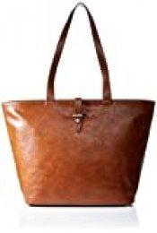 edc by Esprit Accessoires - Tavi Shopper, Shoppers y bolsos de hombro Mujer, Marrón (Rust Brown), 14x30x30.5 cm (B x H T)