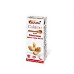 EcoMil Cusine Cashew Bio 200ml - 24 unidades de 200 ml
