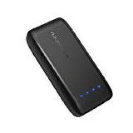 RAVPower Bateria Externa 6700mAh 5V/2,4A, Tecnología iSmart 2.0 Power Bank para Smartphone Samsung, iPhone, Huawei, Xiaomi, etc - Negro