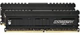 Crucial Ballistix Elite BLE2K8G4D40BEEAK 4000 MHz, DDR4, DRAM, Memoria Gamer Kit para ordenadores de sobremesa, 16 GB (8 GB x 2), CL18