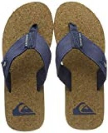 Quiksilver Molokai Abyss Cork-Sandals For Men, Zapatos de Playa y Piscina para Hombre