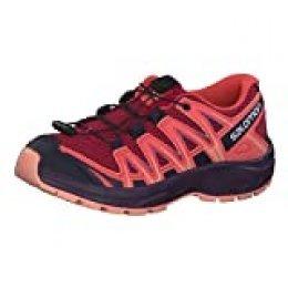 Salomon XA Pro 3D J, Zapatillas de Trail Running Unisex Niños, Rojo/Naranja (Cerise/Dubarry/Peach Amber), 31 EU