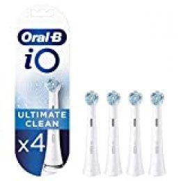 Oral B iO Ultimate Clean Cabezales de recambio, Pack de4 unidades