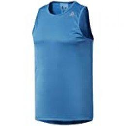 Reebok Re Speedwick Singlet Camiseta, Hombre, neolim, XS