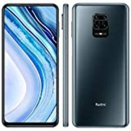 "Xiaomi Redmi Note 9 Pro - Smartphone de 6.67"" (6 GB RAM, 64 GB ROM, cámara AI Quad de 64 MP, batería de 5020 mAh) Interstellar Grey [International Version]"
