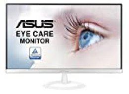"ASUS VZ239HE-W Pantalla para PC 58,4 cm (23"") Full HD LED Plana Mate Blanco - Monitor (58,4 cm (23""), 1920 x 1080 Pixeles, Full HD, LED, 5 ms, Blanco)"