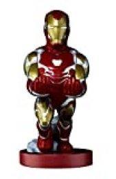 Cable guy Iron man, soporte de sujeción o carga para mando de consola y/o smartphone de tu personaje favorito con licencia de Marvel Avengers Endgame. Producto con licencia oficial. Exquisite Gaming