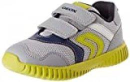 Geox B Waviness Boy A, Zapatillas para Bebés