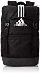 adidas 3s BP Sports Backpack, Unisex Adulto, Black/Black/White, NS