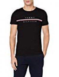 Tommy Hilfiger Corp Split tee Camiseta Deporte para Hombre