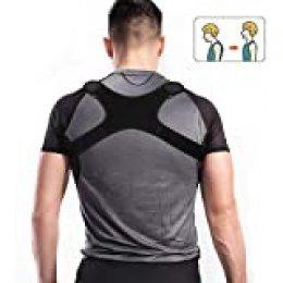Charminer Posture Trainer, Straight Posture Corrector Back Trainer Hombro Back, Correa de Hombro para el Cuello y Dolor en el Hombro para Espalda Recta para Mujeres Cofre de Hombre 85~105 Cm