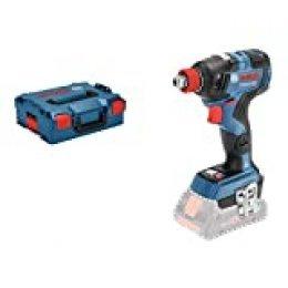 Bosch Professional GDX 18V-200 C Llave de impacto, 200 Nm, tornillos hasta M16, sin batería, en L-BOXX, 18 V, Azul, 9,8
