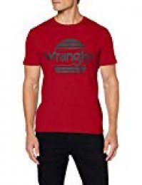Wrangler SS Sunset tee Camiseta para Hombre