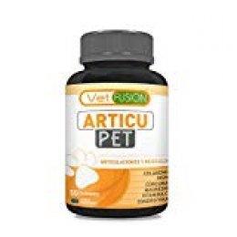 ArticuPet | Antiinflamatorio para perros y gatos | Recupera su energía y movilidad | Combate el dolor y la inflamación | Con colágeno + cúrcuma + condroitina + magnesio | 50 unidades sin azúcar