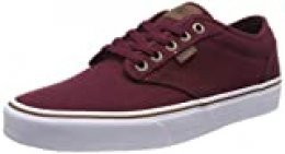 Vans Atwood Canvas, Zapatillas para Hombre, Rojo ((Oz C/Yellow) Port Royale/White Vea), 38.5 EU
