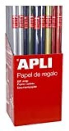 APLI 13644 Papel Regalo Kraft Color, 2 X 0,70