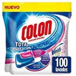 Colon Duplo Capsulas Frescor Extra Vanish -  2x 50- 100 Lavados
