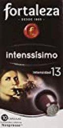 Café FORTALEZA - Cápsulas de Café Intenssisimo Compatibles con Nespresso - Pack 24 x 10 - Total 240 Cápsulas.