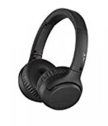 Sony WH-XB700 - Auriculares inalámbricos EXTRA BASS (Bluetooth, NFC, 30 horas de batería, carga rápida, manos libres, estilo de auricular on-ear) negro, con Alexa integrada
