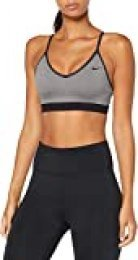 Nike Indy Bra Sports Bra, Mujer, Carbon Heather/Carbon Heather/Black, XS