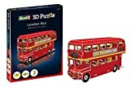 Revell- Bus de Londres 3D Puzzle, Multicolor (00113)