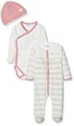Absorba 7p54091-ra Db + Body Pijama, Rosa (Old Pink 32), 6-9 Meses (Talla del Fabricante: 6M) para Bebés