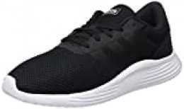 Adidas Lite Racer 2.0, Sneaker Mens, Core Black/Footwear White/Core Black, 44 2/3 EU