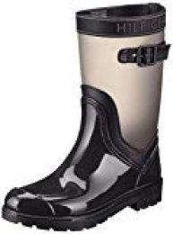 Tommy Hilfiger Translucent Detail Rain Boot, Botas Chelsea para Mujer