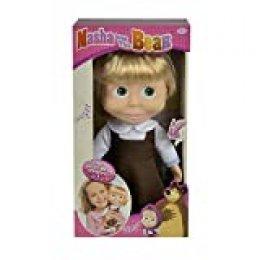 Muñeca cantarina de Masha y el Oso de 30cm con sonido (Simba 9306516) , color/modelo surtido
