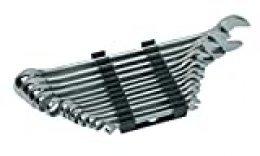 Mannesmann M19652 Juego de 12 llaves combinadas 6 a 22 CV