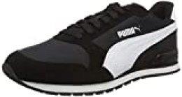 PUMA ST Runner V2 NL, Zapatillas Unisex-Adulto, Negro Black White, 36 EU
