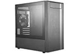 Cooler Master NR400 - Carcasa para Videojuegos (USB 3.0, MCB-NR400-KG5N-S00), Color Negro