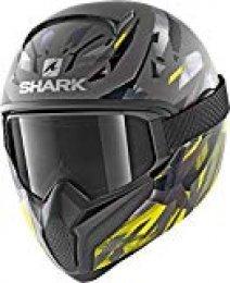 Shark Casco integral VANCORE 2kanhji negro gris amarillo talla XL