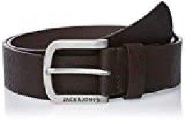 Jack & Jones Jacharry Belt Noos Cinturón, Marrón (Black Coffee Black Coffee), 110 (Talla del fabricante: 95) para Hombre