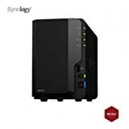 SYNOLOGY - DS218 - NAS 24To (2X 12To) WD Red