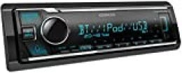 Kenwood KMM-BT306 - Radio para Coche con USB y Manos Libres Bluetooth (procesador de Sonido Integrado, MP3, Control de Spotify, 4 x 50 W, iluminación Regulable)