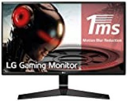 "LG 27MP59G-P - Monitor Gaming FHD de 68, 6 cm (27"") con Panel IPS (1920 x 1080 píxeles,  16:9,  1 ms con MBR,  75Hz,  250 cd/m²,  1000:1,  sRGB >99%, D-SUB x1, HDMI x1, DP x1) Color Negro"