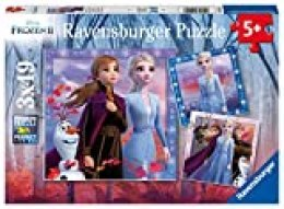 Ravensburger - Puzzle Frozen 2, Pack de 3 x 49 piezas (05011)