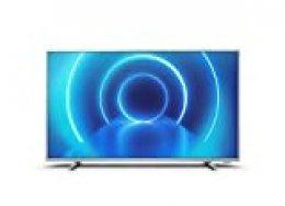 Televisor 4K UHD Philips 58PUS7555/12 de 146 cm (58 pulgadas) (4K UHD, P5 Perfect Picture Engine, Dolby Vision, Dolby Atmos, HDR 10+, Saphi Smart TV, HDMI, USB), Color plata (modelo de 2020/2021)